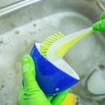 Beim Abwaschen Zeit sparen