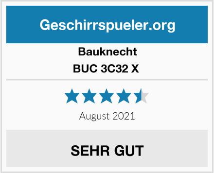 Bauknecht BUC 3C32 X  Test