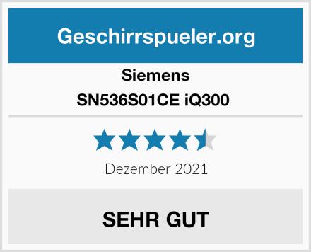 Siemens SN536S01CE iQ300  Test