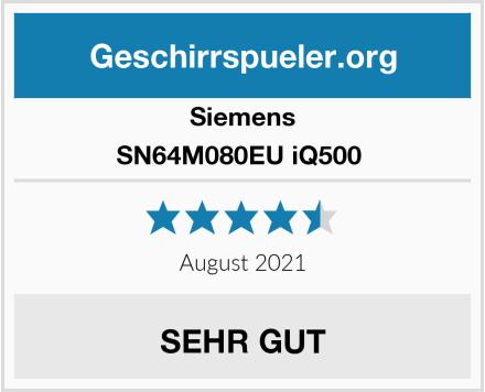 Siemens SN64M080EU iQ500  Test