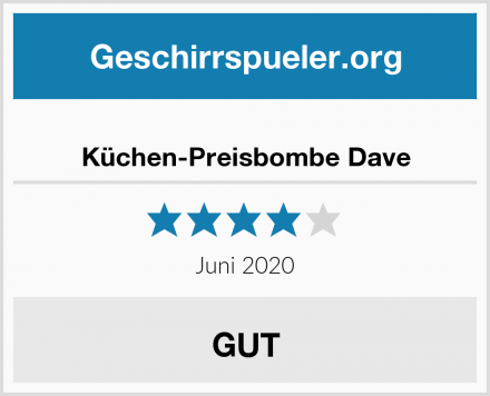 Küchen-Preisbombe Dave Test