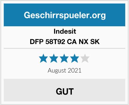 Indesit DFP 58T92 CA NX SK Test
