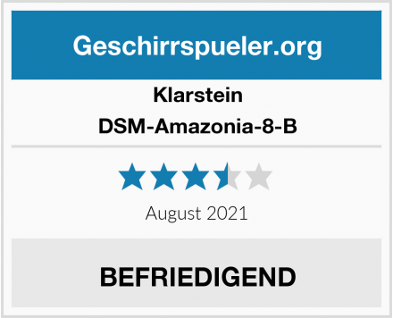Klarstein DSM-Amazonia-8-B Test