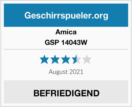 Amica GSP 14043W Test