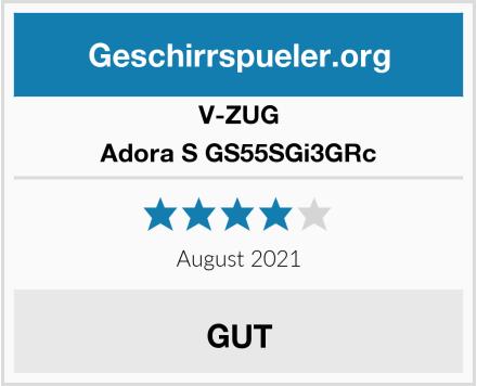 V-ZUG Adora S GS55SGi3GRc Test