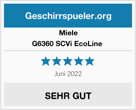 Miele G6360 SCVi EcoLine  Test