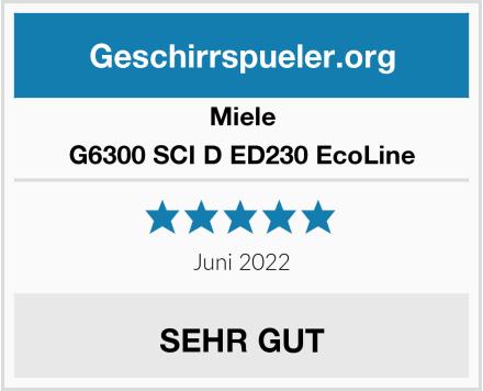 Miele G6300 SCI D ED230 EcoLine Test