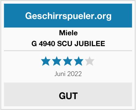 Miele G 4940 SCU JUBILEE Test