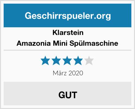 Klarstein Amazonia Mini Spülmaschine Test