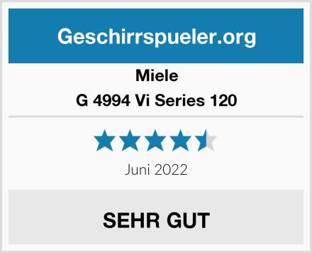 Miele G 4994 Vi Series 120 Test