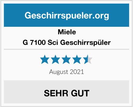 Miele G 7100 Sci Geschirrspüler Test
