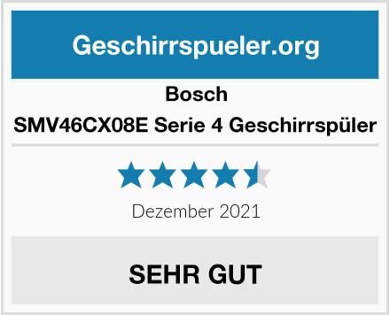 Bosch SMV46CX08E Serie 4 Geschirrspüler Test