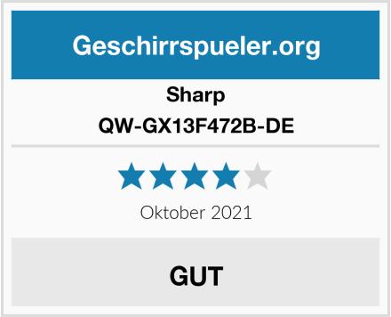 Sharp QW-GX13F472B-DE Test