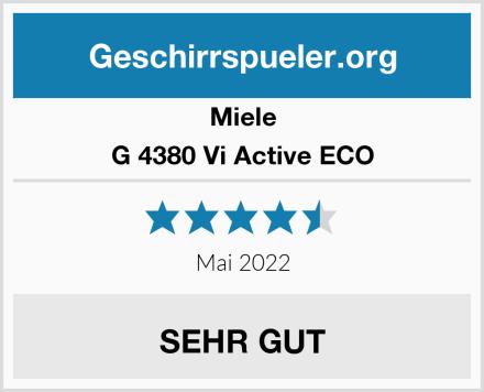 Miele G 4380 Vi Active ECO Test