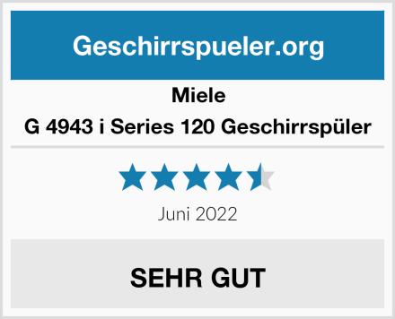Miele G 4943 i Series 120 Geschirrspüler Test