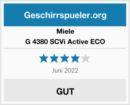 Miele G 4380 SCVi Active ECO Test