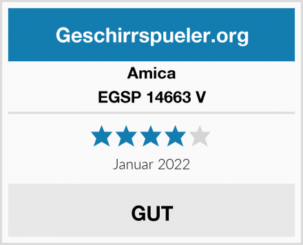 Amica EGSP 14663 V Test