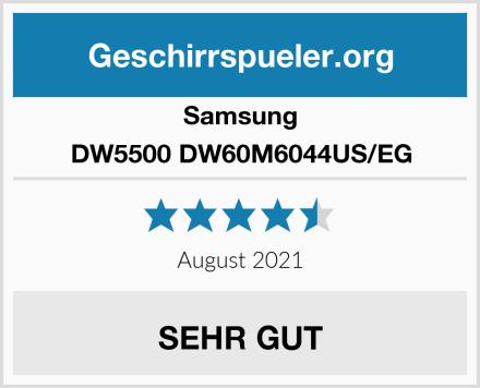 Samsung DW5500 DW60M6044US/EG Test
