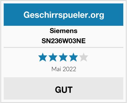 Siemens SN236W03NE Test