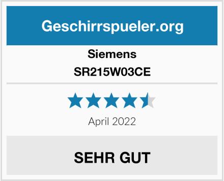 Siemens SR215W03CE Test