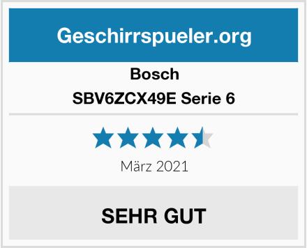 Bosch SBV6ZCX49E Serie 6 Test