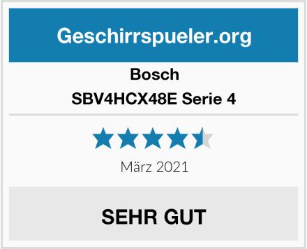 Bosch SBV4HCX48E Serie 4 Test
