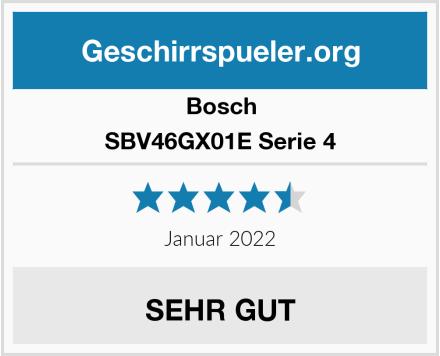 Bosch SBV46GX01E Serie 4 Test