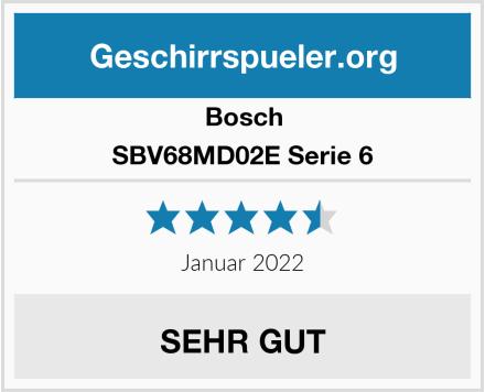 Bosch SBV68MD02E Serie 6 Test