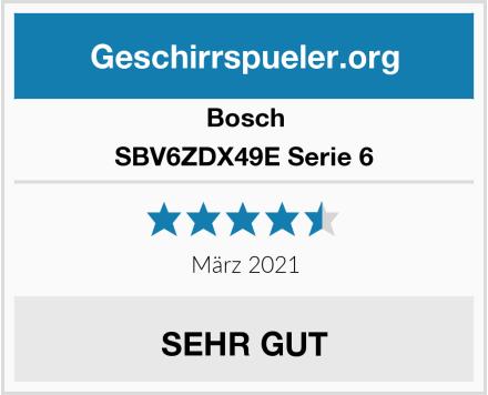 Bosch SBV6ZDX49E Serie 6 Test