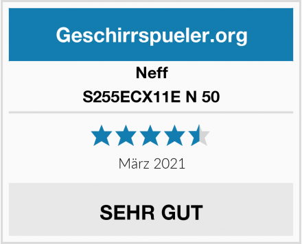 Neff S255ECX11E N 50 Test
