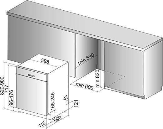 bauknecht buc 3c32 x geschirrsp ler test 2018. Black Bedroom Furniture Sets. Home Design Ideas